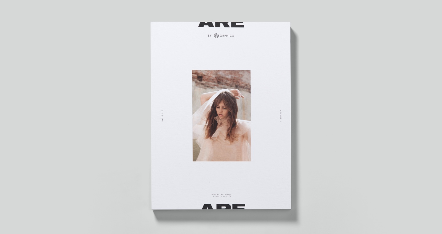 ARE MAGAZINE BY ORPHICA VOL. 01